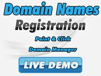 Moderately priced domain name registration service providers