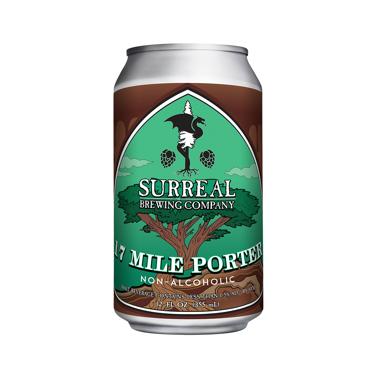 Surreal Brewing 17MilePorter Can