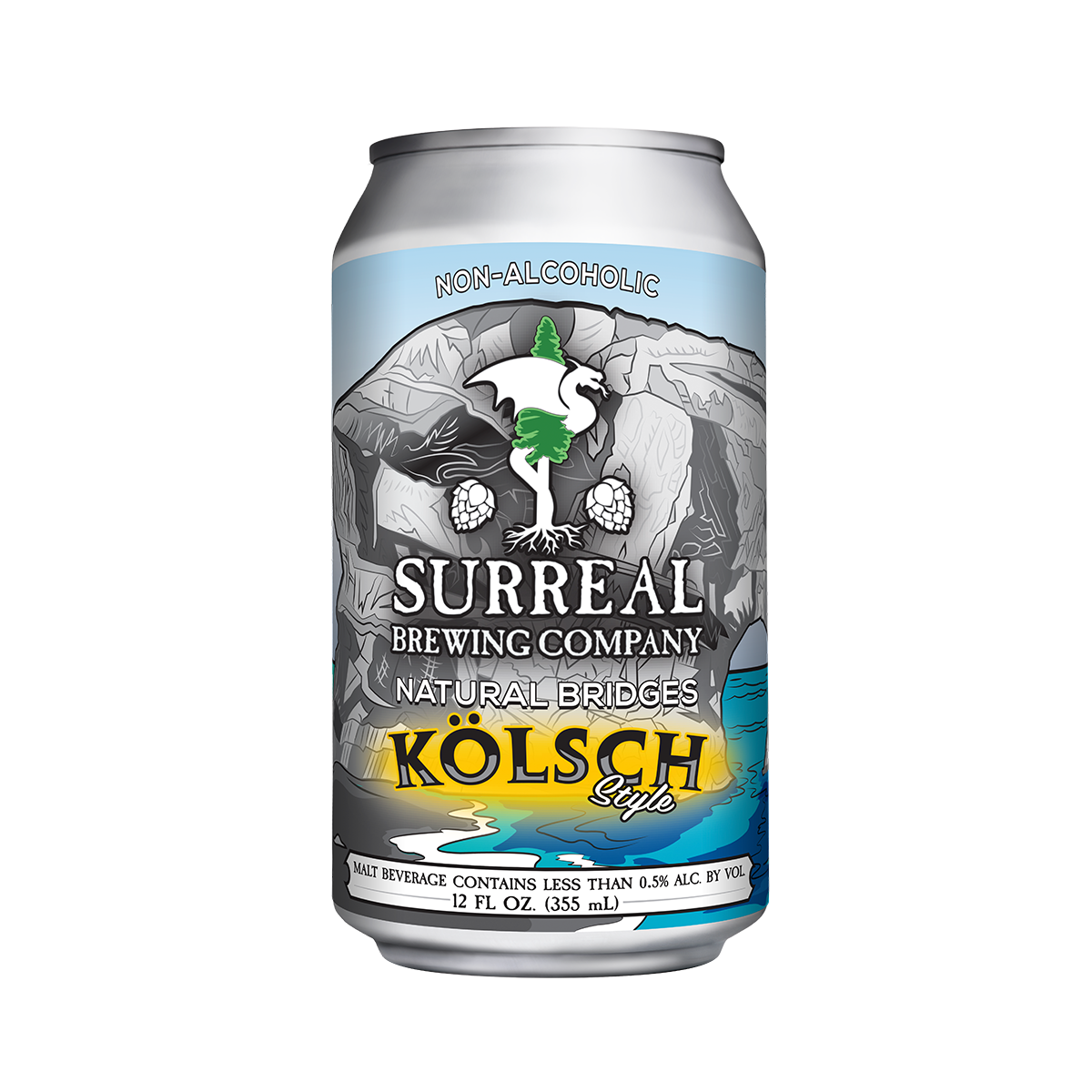 Surreal Brewing KolschStyle Single Can